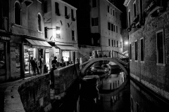 Night bar, Venice