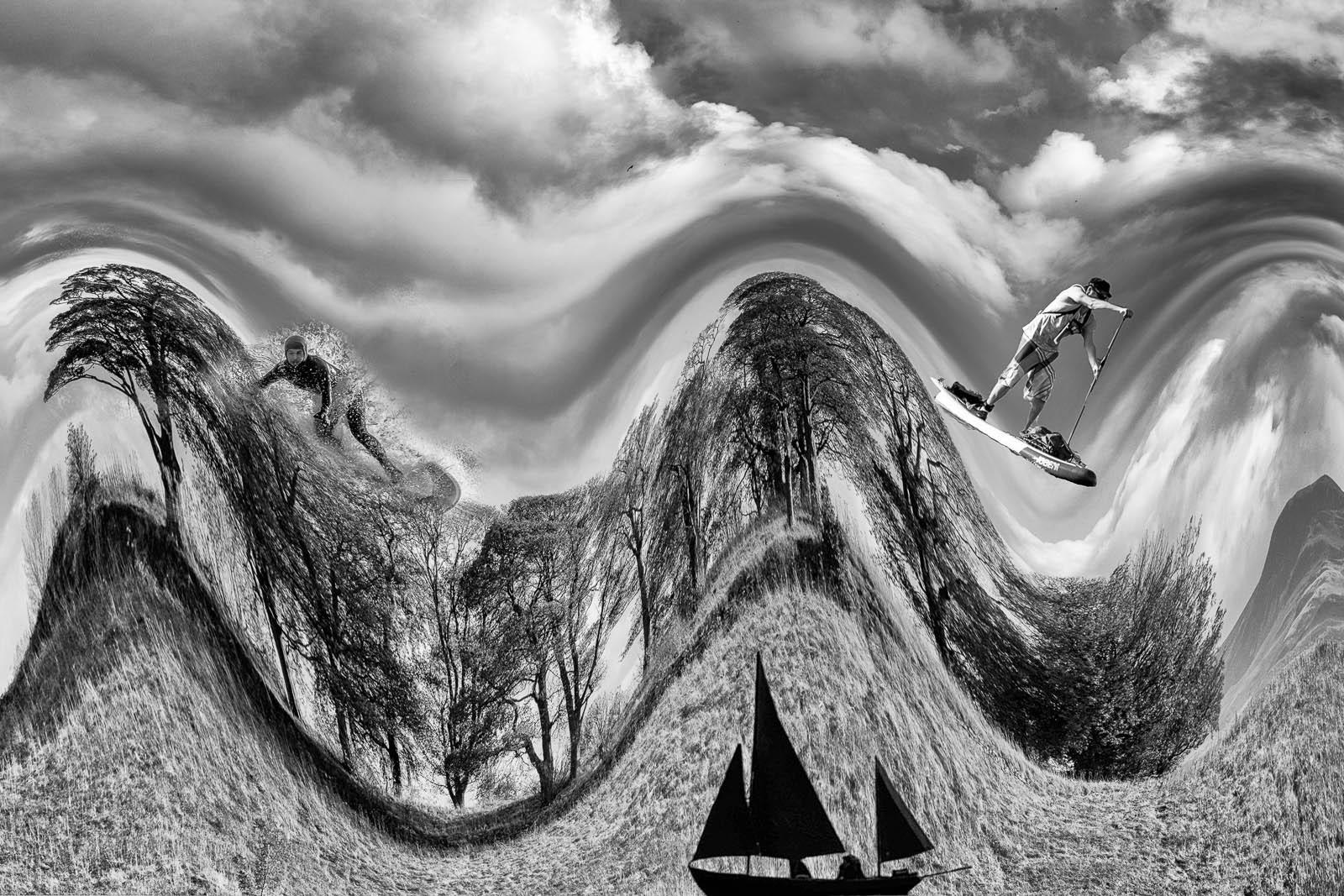 Alan Thomson - Cammo Landscape