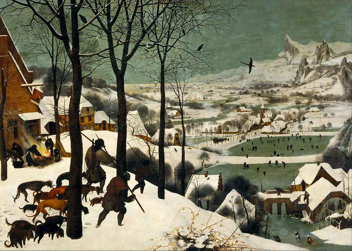 Pieter Breughel - Hunters in the Snow